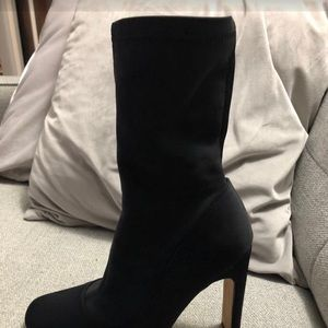 Missguided Sock Boots size 6 (EUR 36)